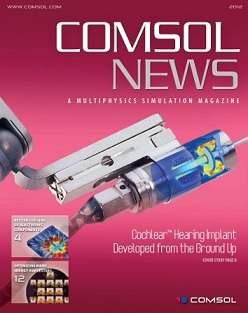 Cover of COMSOL News 2012
