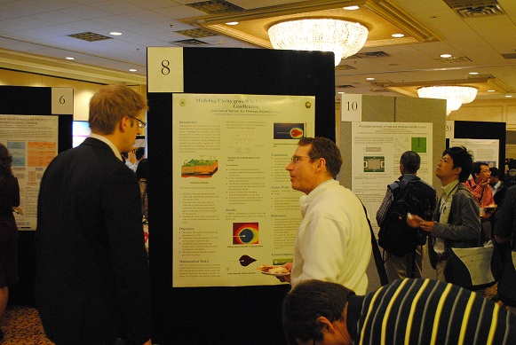 Poster Session at the COMSOL Conference Boston 2011