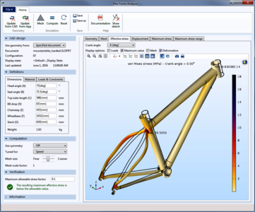 Bike Frame Analyzer